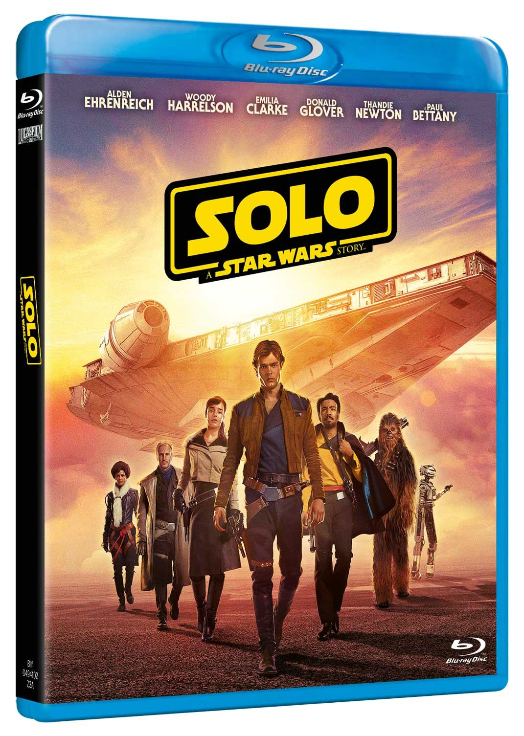 STAR WARS - SOLO: A STAR WARS STORY (2 BLU-RAY)