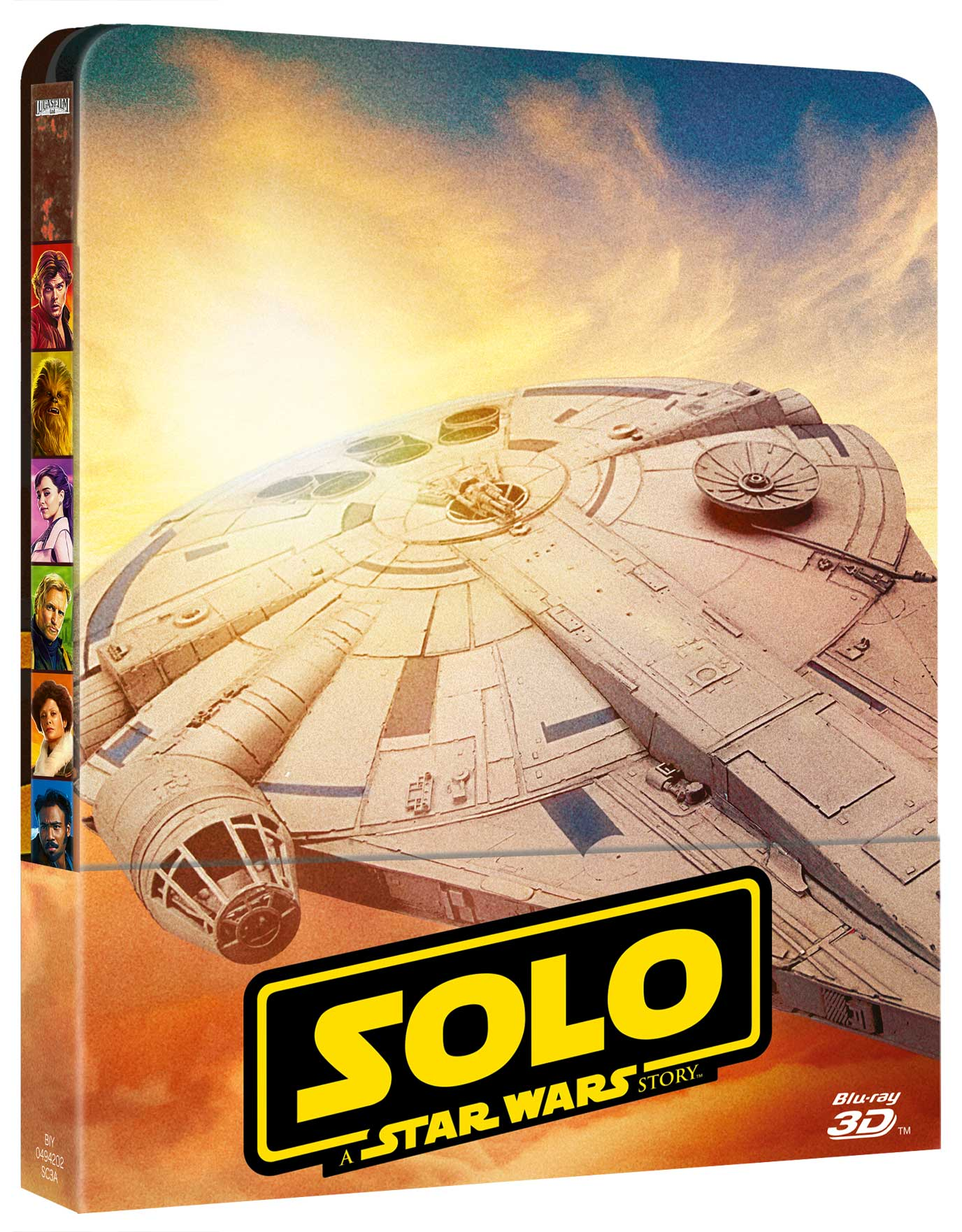 STAR WARS - SOLO: A STAR WARS STORY (3D) (BLU-RAY 3D+2 BLU-RAY)