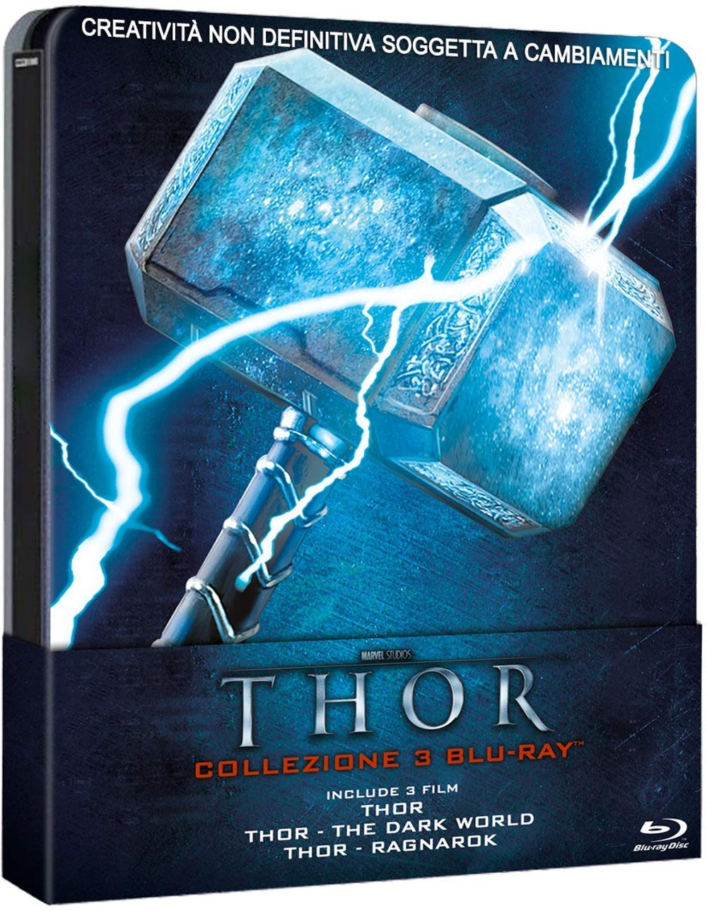 COF.THOR TRILOGY (3 BLU-RAY) (STEELBOOK)