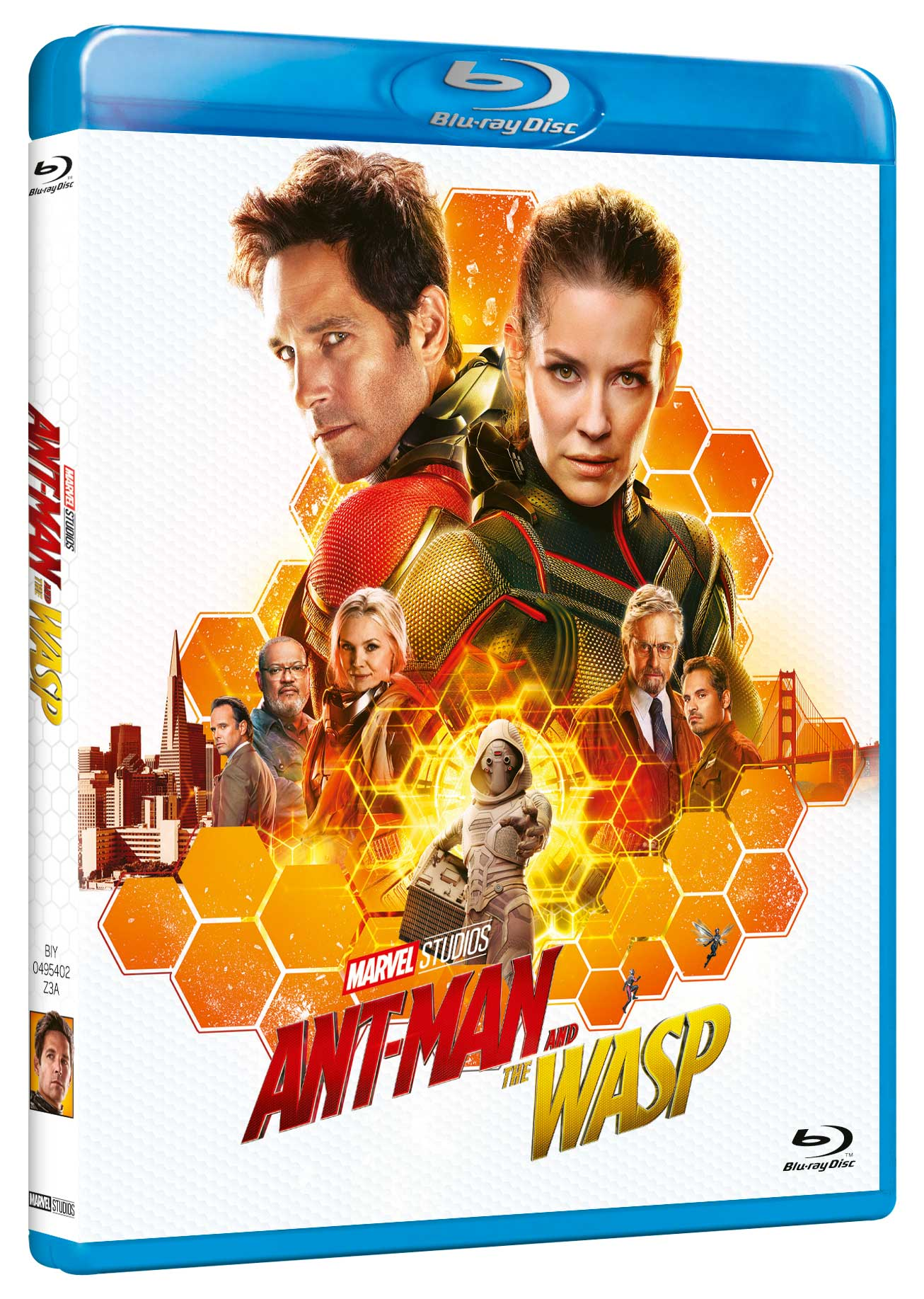 ANT-MAN AND THE WASP - BLU RAY