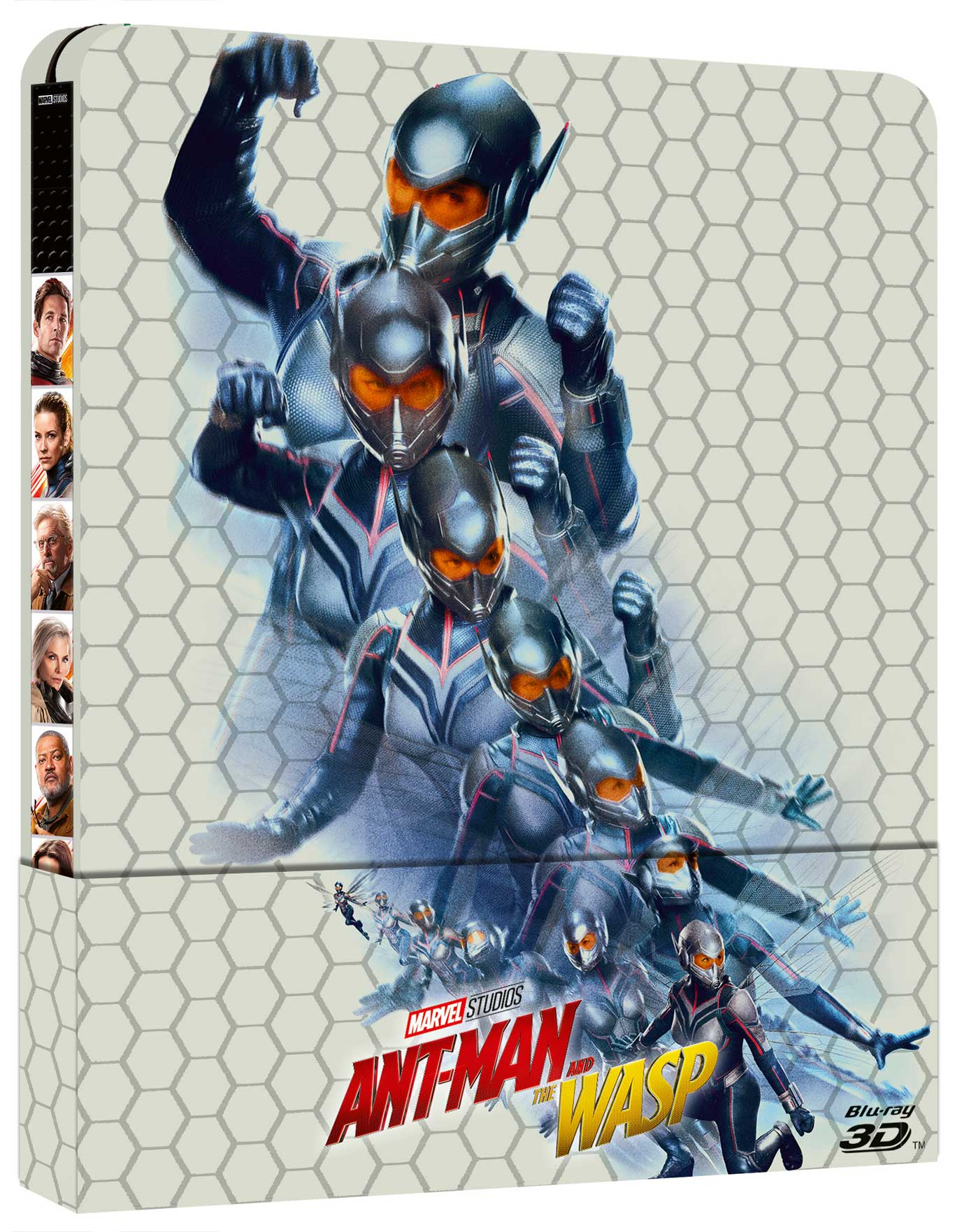 ANT-MAN AND THE WASP (3D) (BLU-RAY 3D+BLU-RAY) (LTD STEELBOOK)