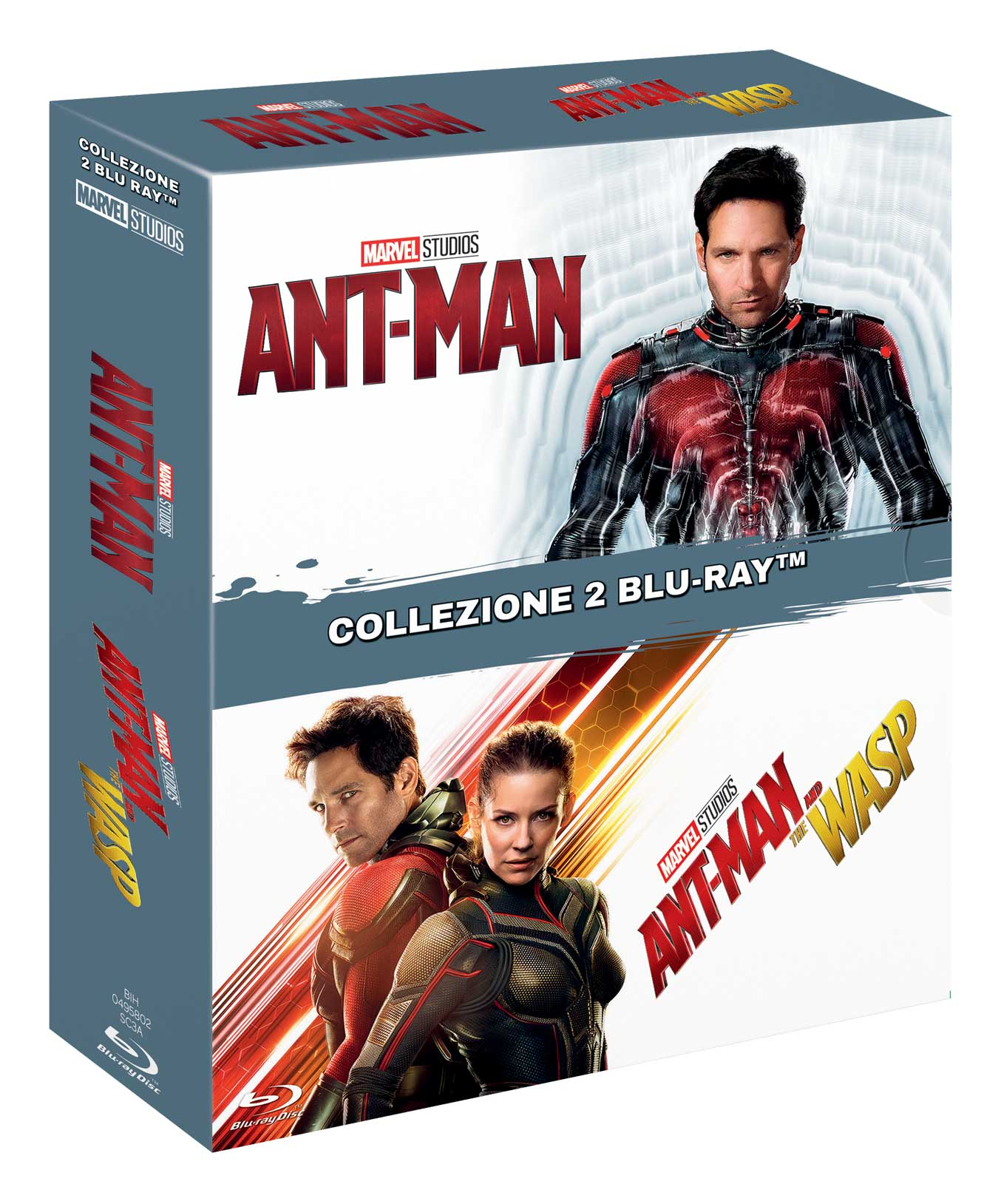 COF.ANT-MAN / ANT-MAN AND THE WASP (2 BLU RAY)