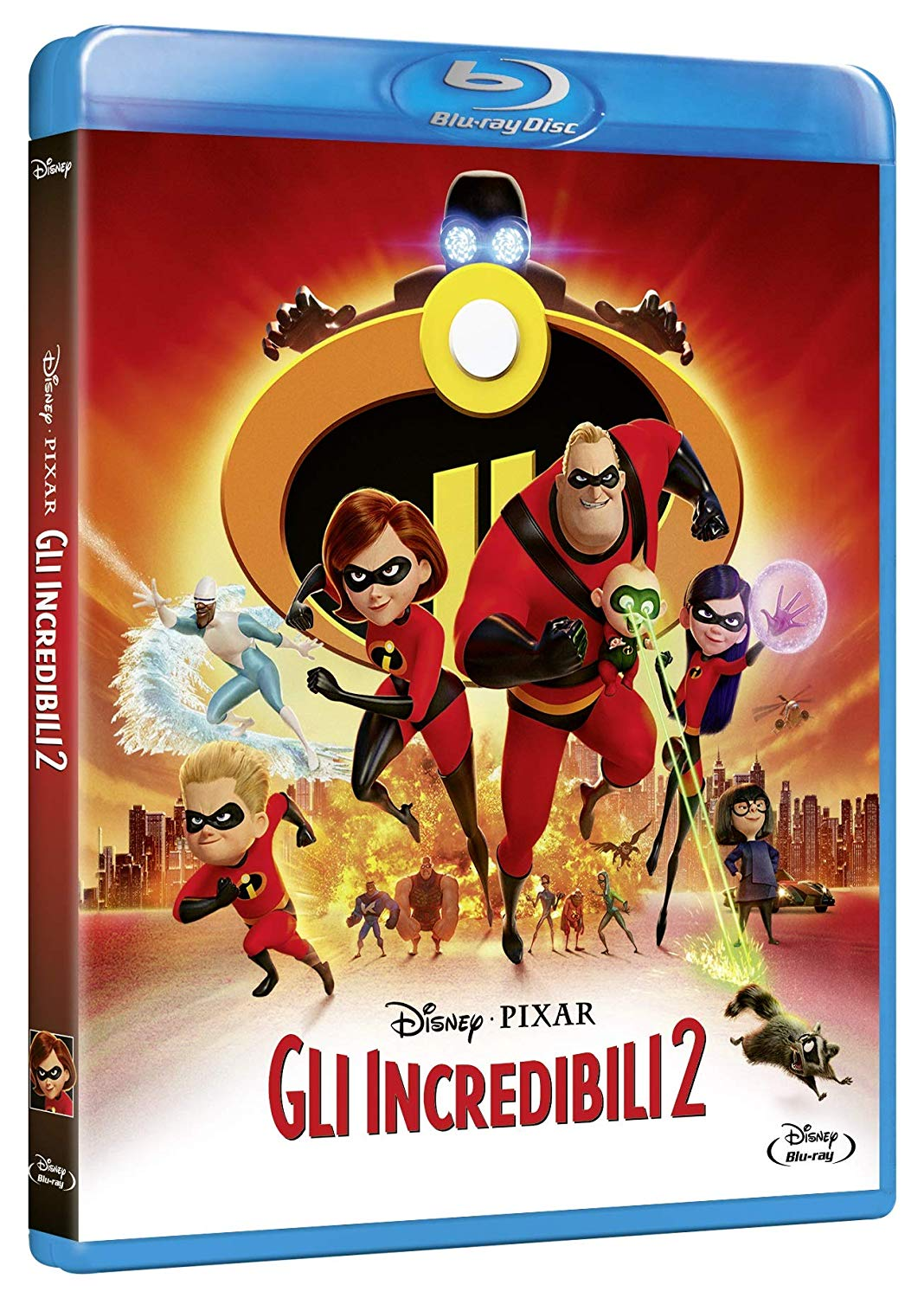 GLI INCREDIBILI 2 - BLU RAY