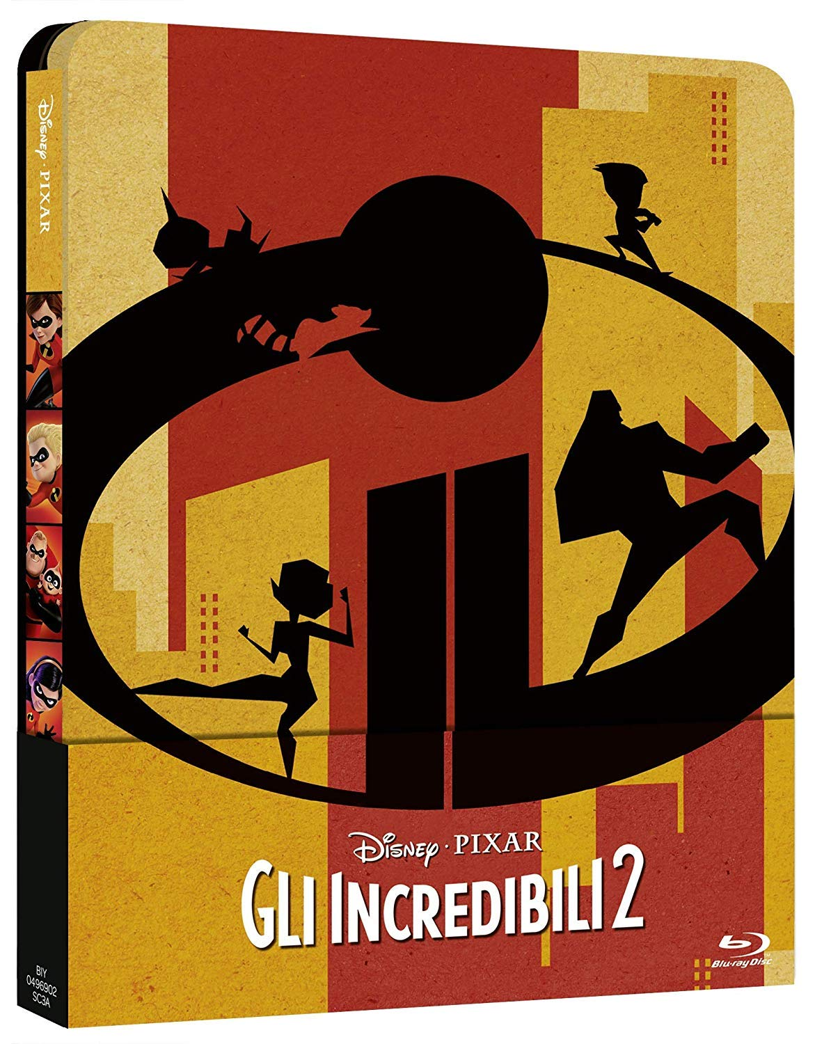 GLI INCREDIBILI 2 (BLU RAY 3D + BLU RAY 2D)