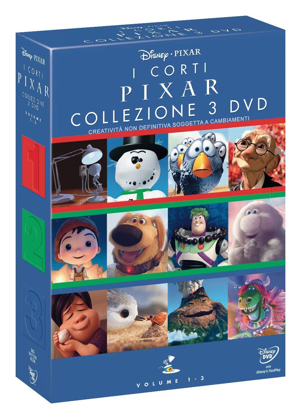 COF.I CORTI PIXAR COLLEZIONE (3 DVD) (DVD)