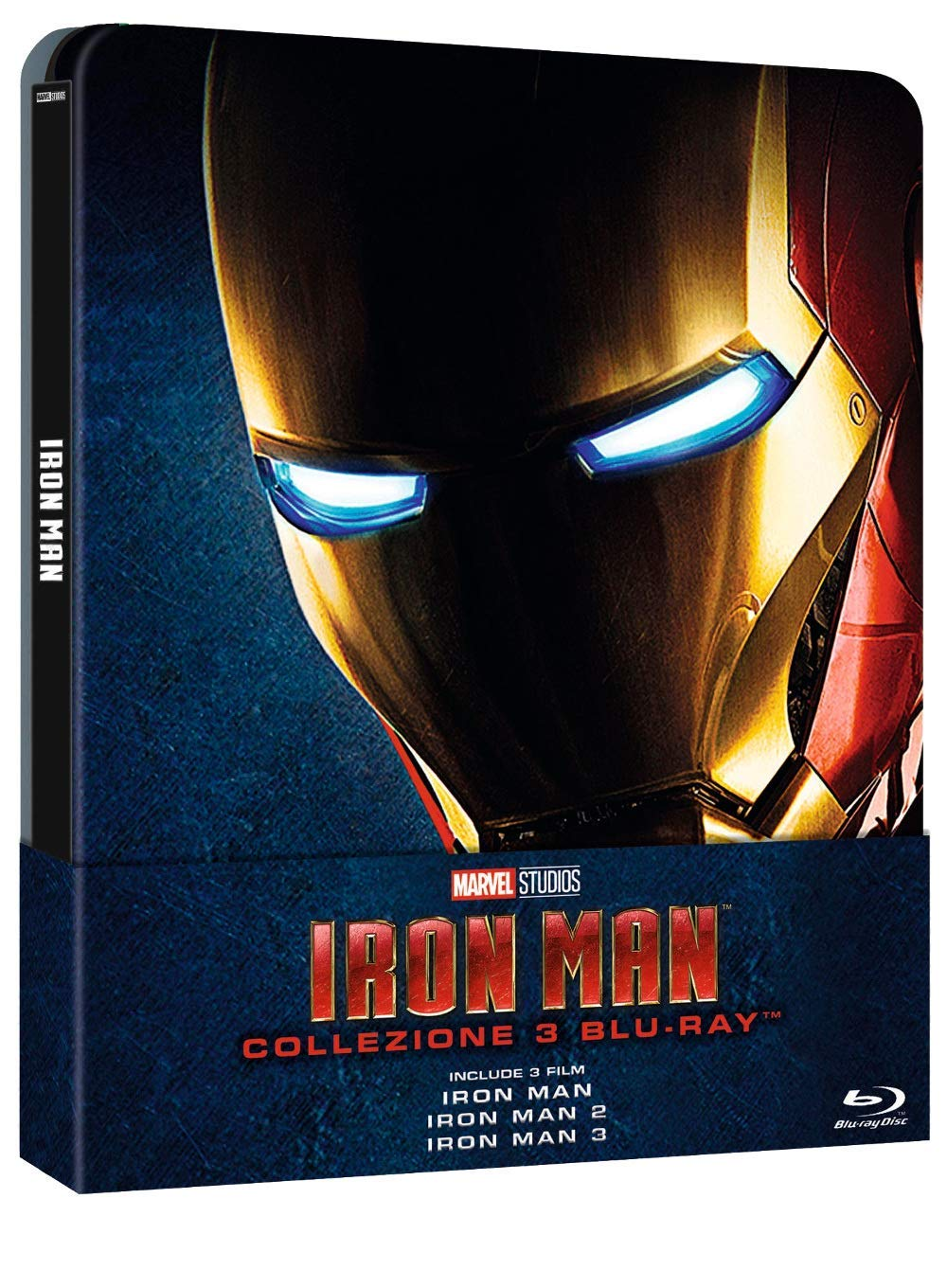 COF.IRON MAN TRILOGY (3 BLU-RAY) (STEELBOOK)