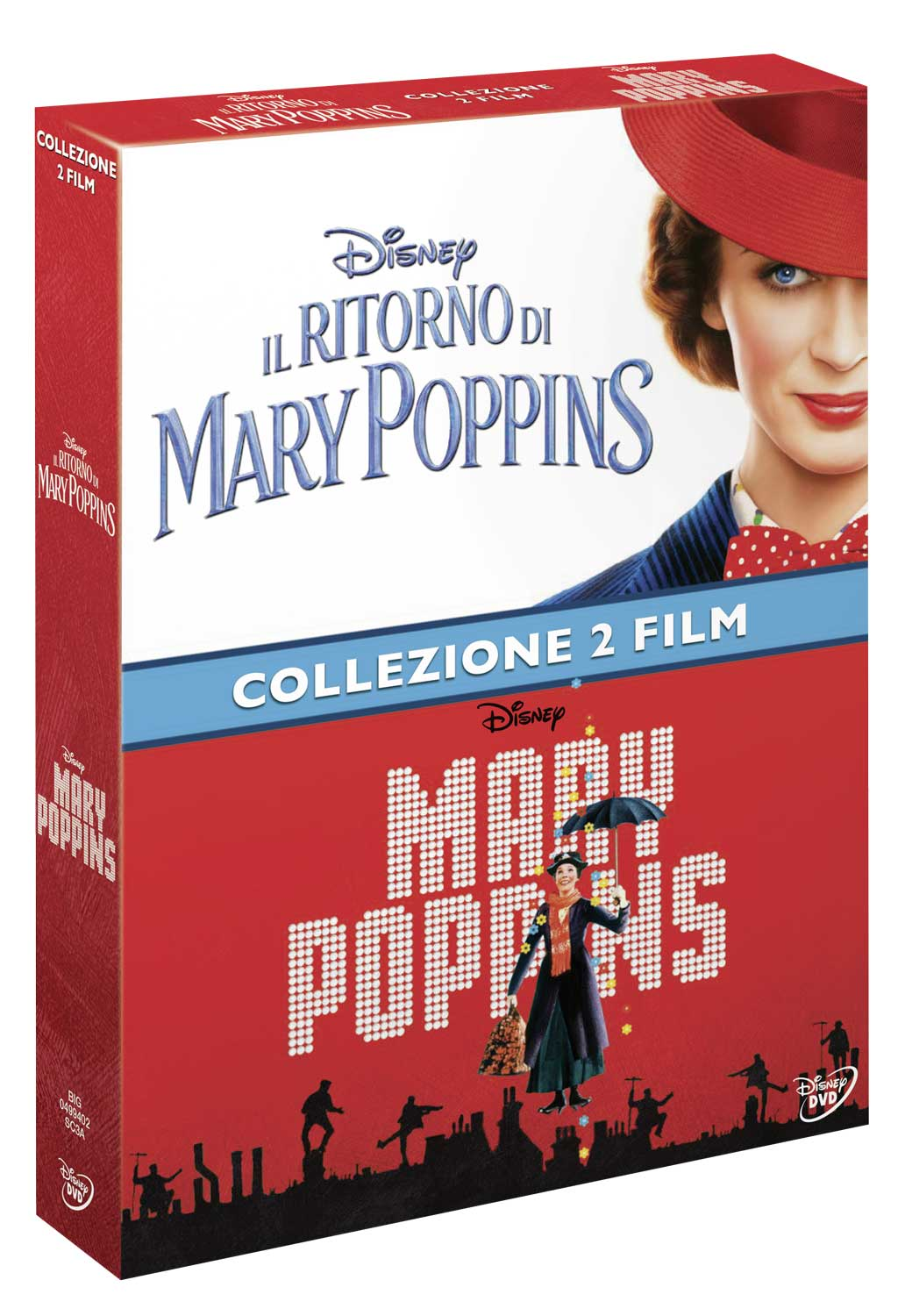 COF.MARY POPPINS COLLECTION (2 DVD) (DVD)