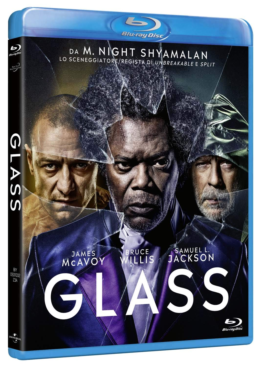 GLASS - BLU RAY