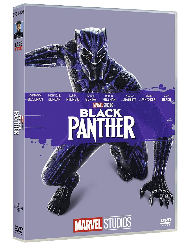 BLACK PANTHER (EDIZIONE MARVEL STUDIOS 10 ANNIVERSARIO) (DVD)