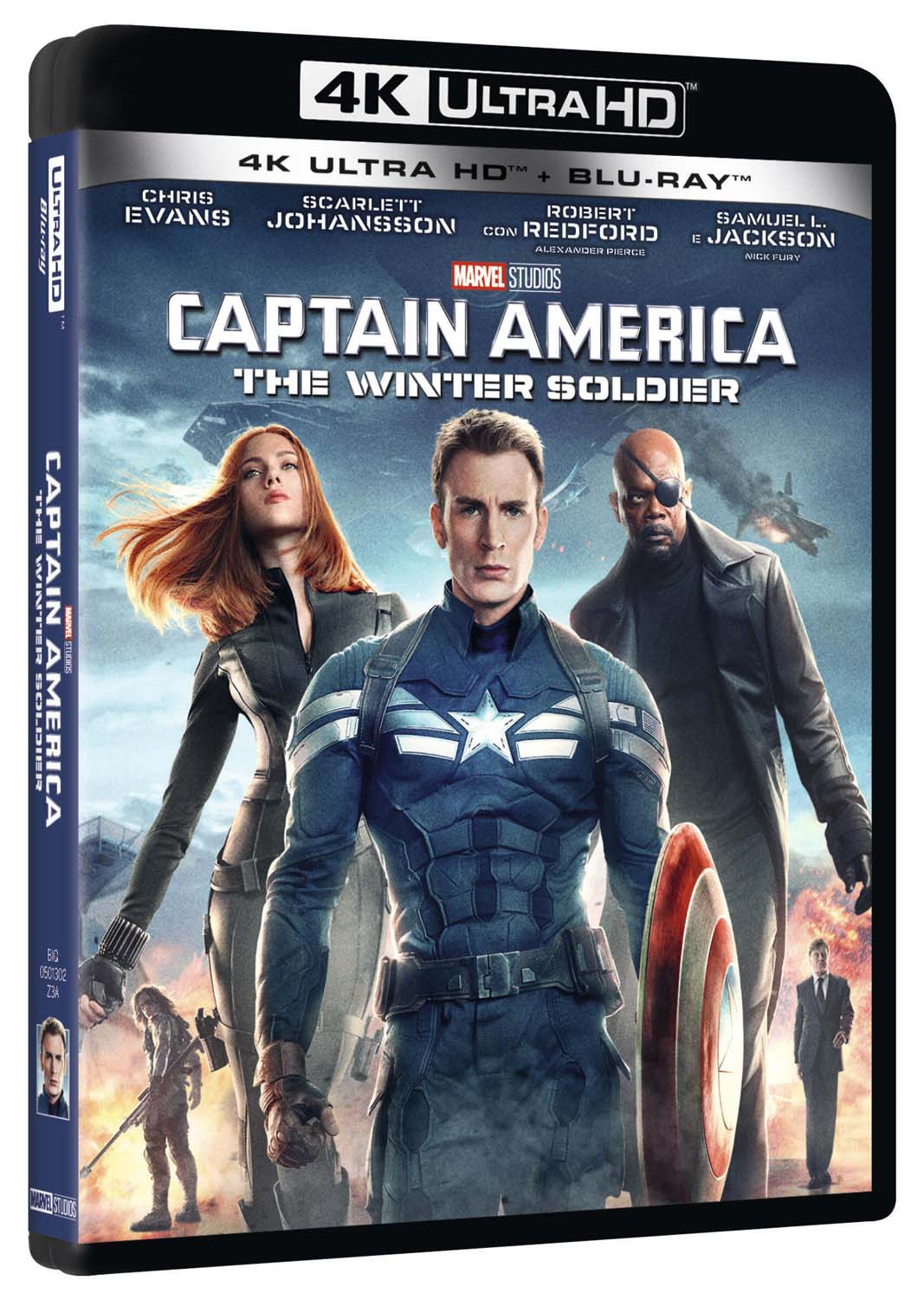 CAPTAIN AMERICA - THE WINTER SOLDIER (UHD)