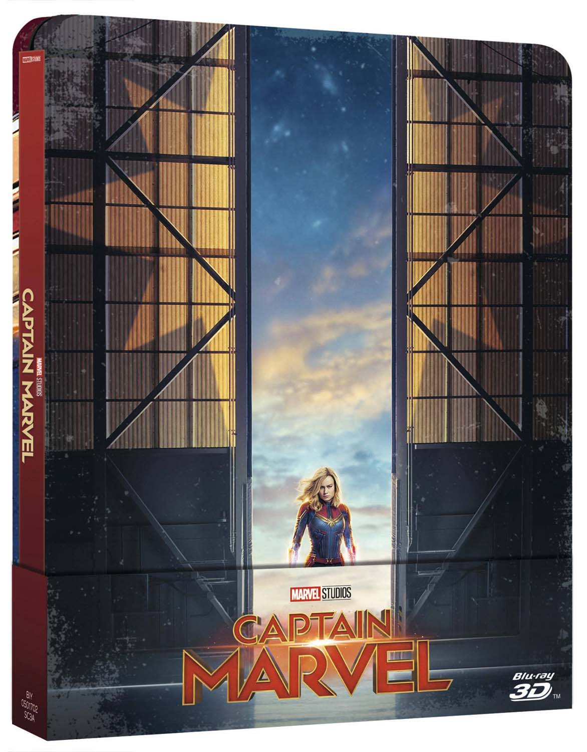 CAPTAIN MARVEL - BLU RAY - 3D