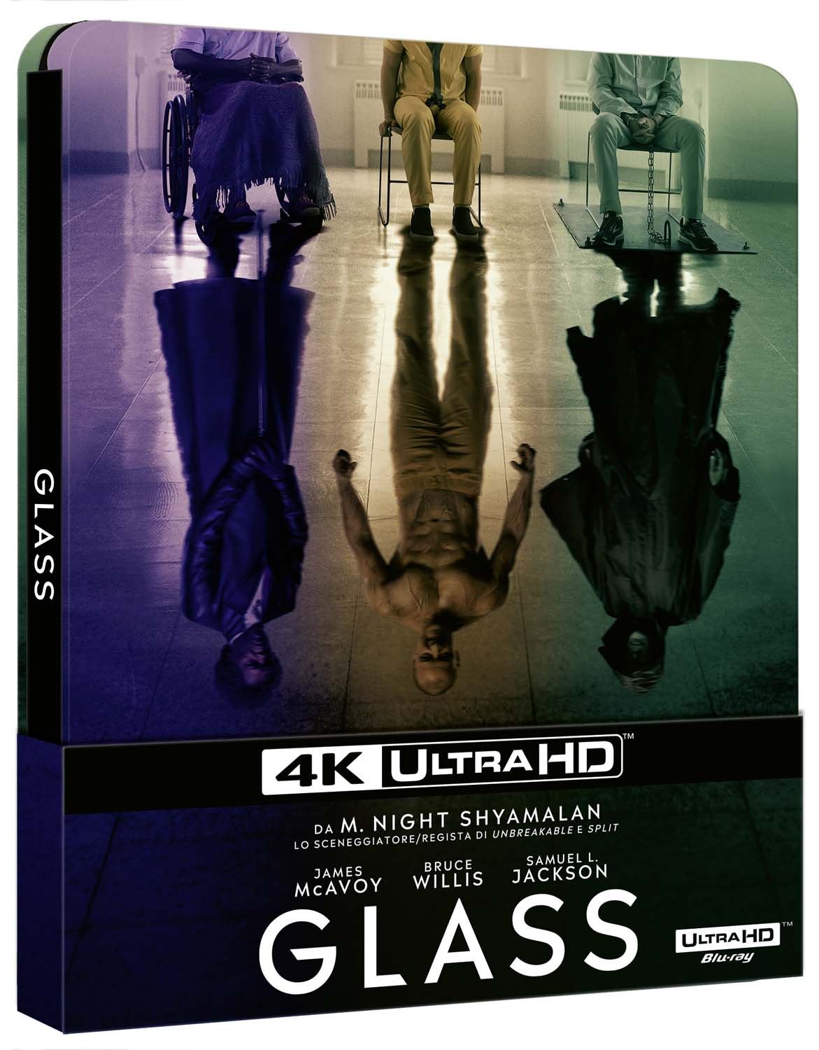 GLASS (STEELBOOK) (4K ULTRA HD+BLU-RAY)