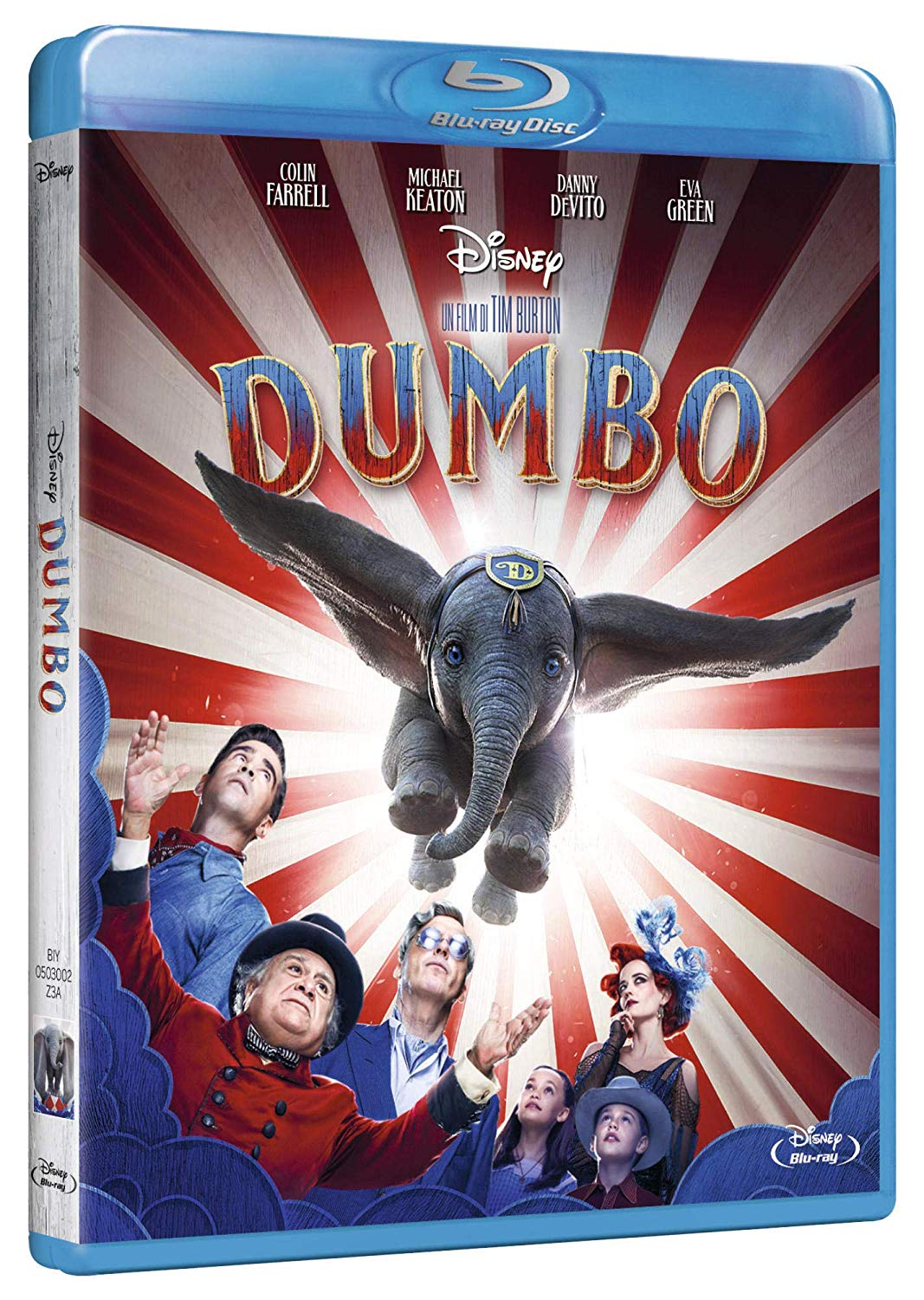 DUMBO (LIVE ACTION) - 2019 - BLU RAY