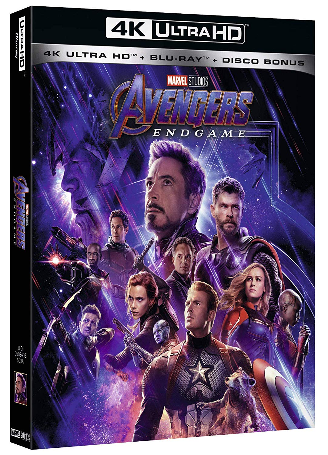 AVENGERS - ENDGAME (4K ULTRA HD+BLU-RAY+DISCO BONUS)