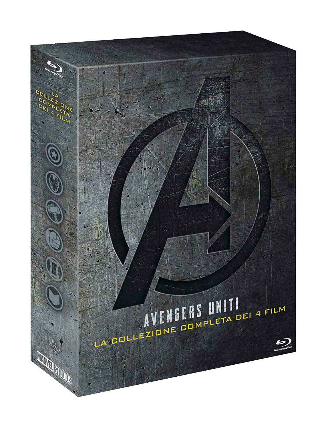 COF.AVENGERS COLLECTION (5 BLU-RAY)