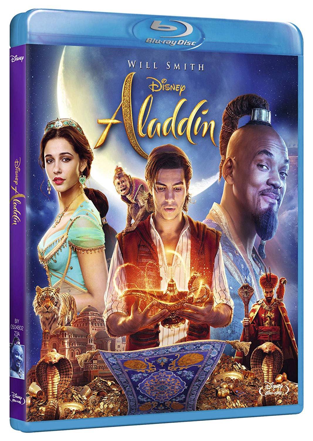 ALADDIN (LIVE ACTION) - BLU RAY