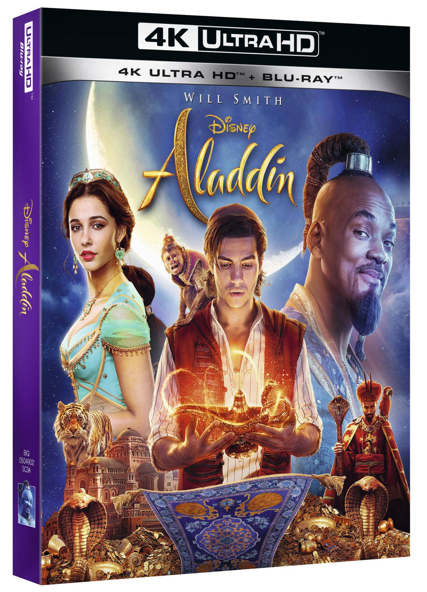 ALADDIN (LIVE ACTION) (BLU-RAY 4K ULTRA HD+BLU-RAY)