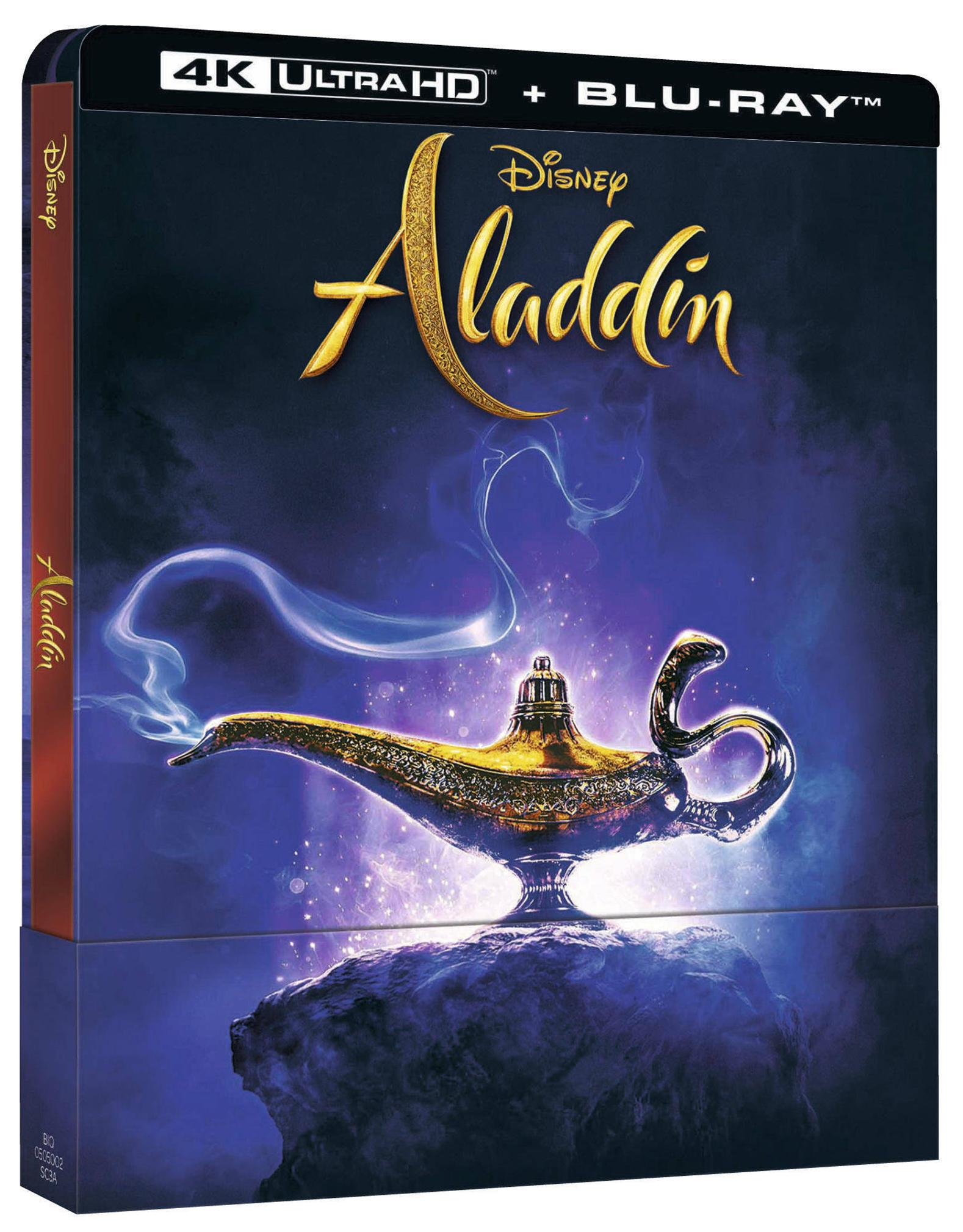 ALADDIN (LIVE ACTION) (LTD STEELBOOK) (BLU-RAY 4K ULTRA HD+BLU-R