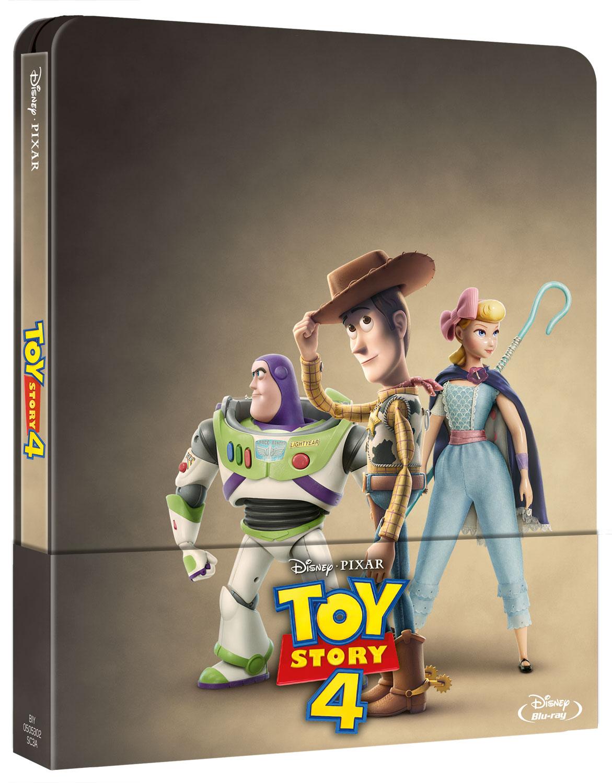 TOY STORY 4 (STEELBOOK) - BLU RAY