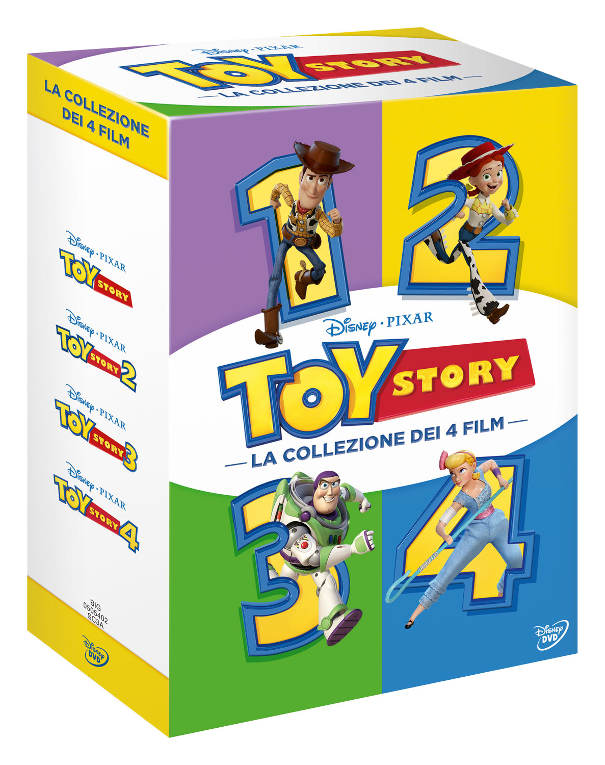 COF.TOY STORY COLLECTION (4 DVD) (DVD)