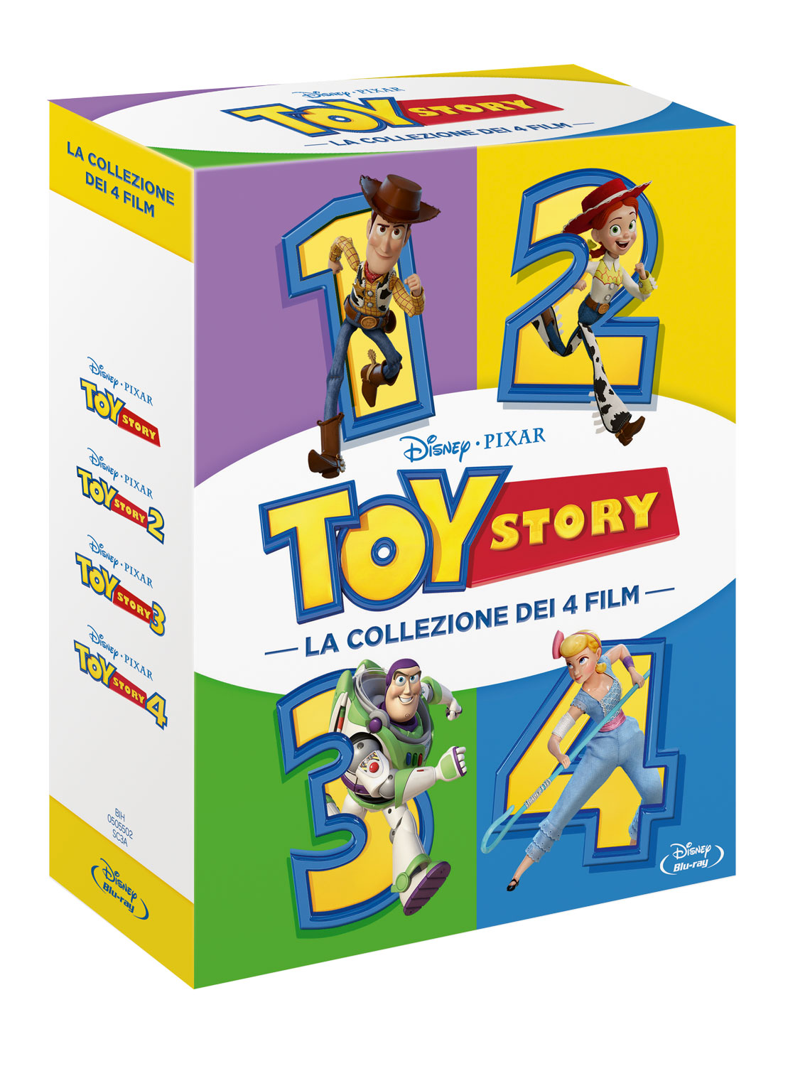 COF.TOY STORY COLLECTION (4 BLU-RAY)