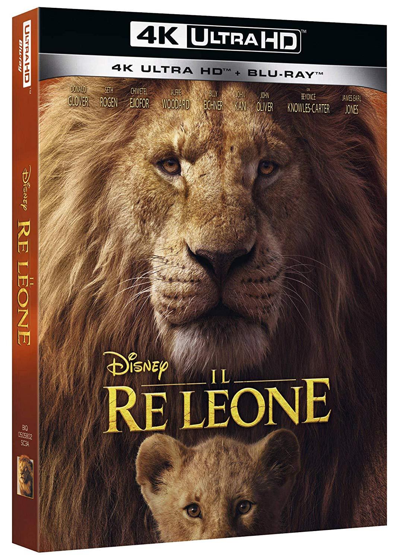 IL RE LEONE (LIVE ACTION) (4K ULTRA HD+BLU-RAY)