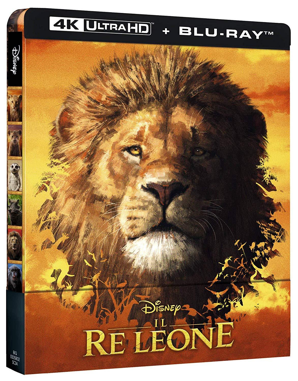 IL RE LEONE (LIVE ACTION) (STEELBOOK) (4K ULTRA HD+BLU-RAY)