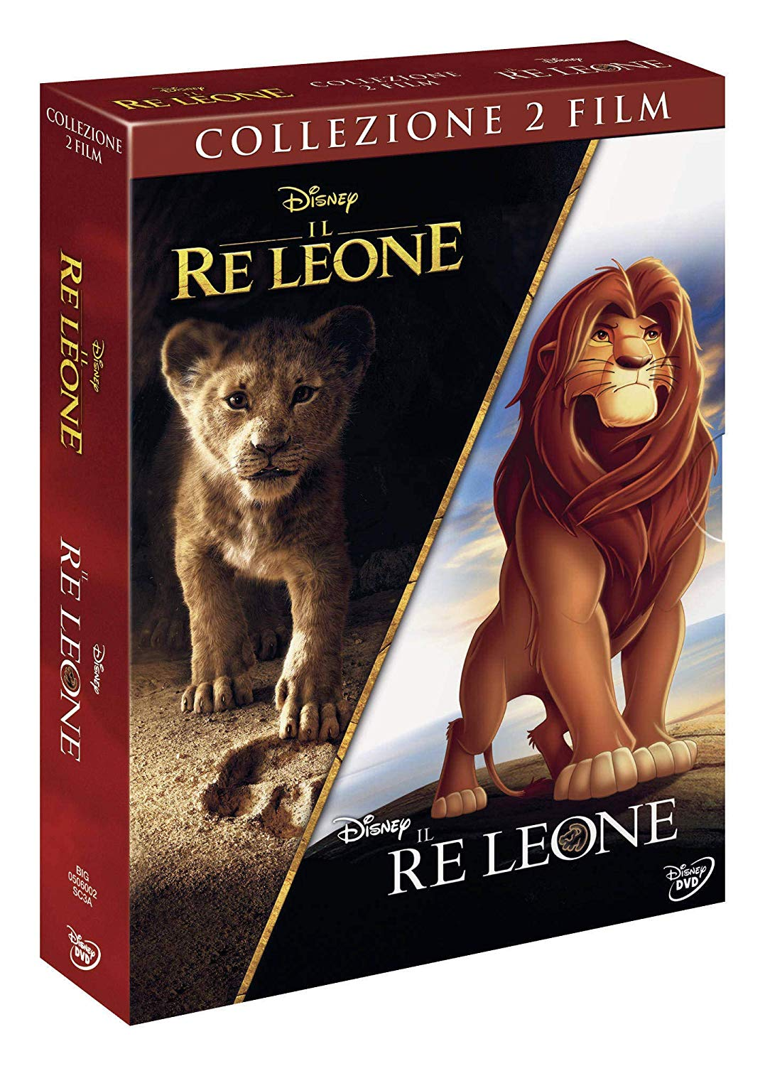 COF.IL RE LEONE (LIVE ACTION) / IL RE LEONE (2 DVD) (DVD)