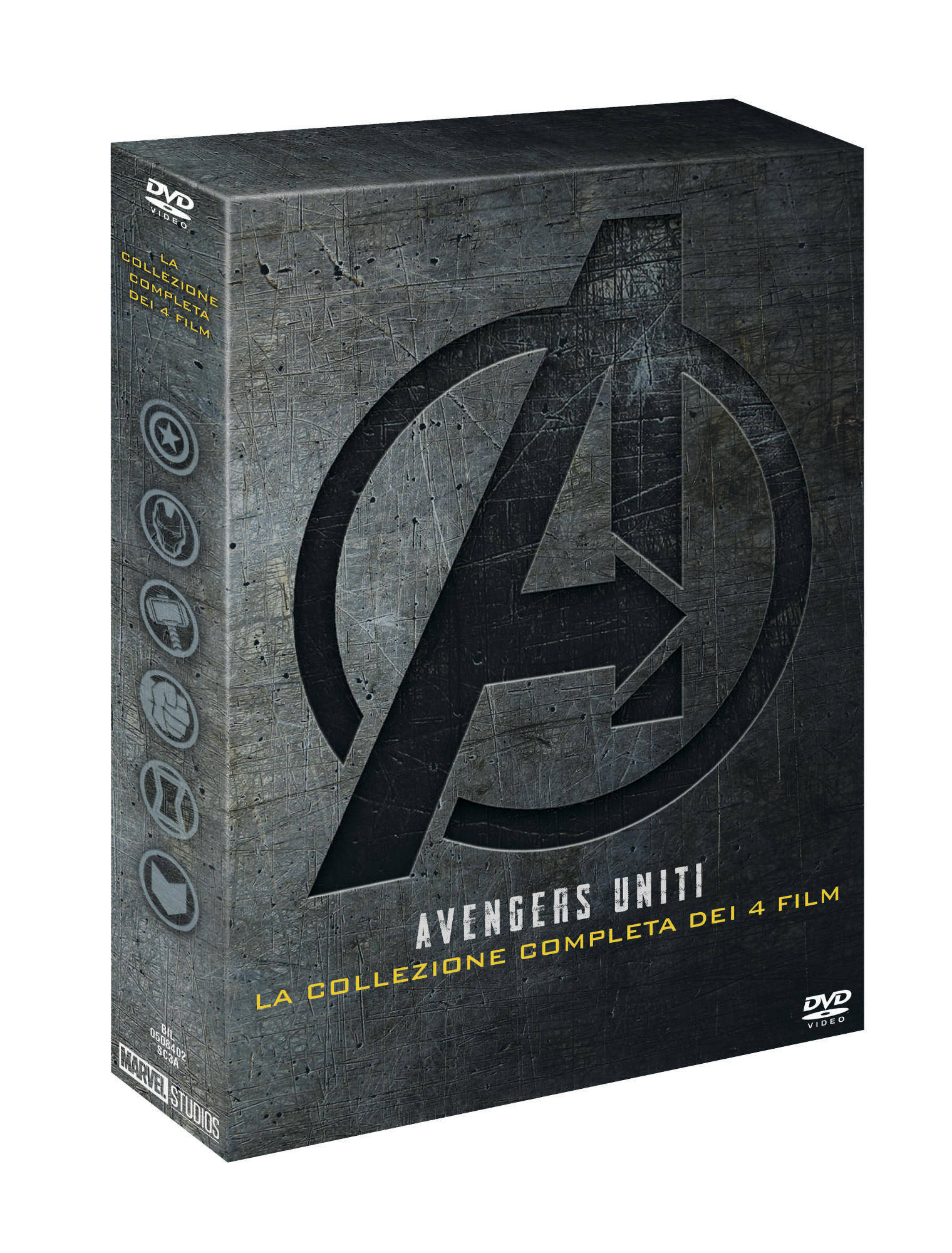 COF.AVENGERS COLLECTION (4 DVD) (DVD)