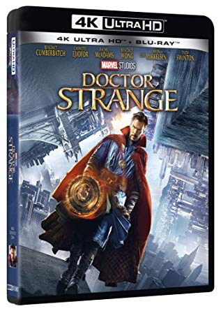 DOCTOR STRANGE (4K UHD + BLURAY)