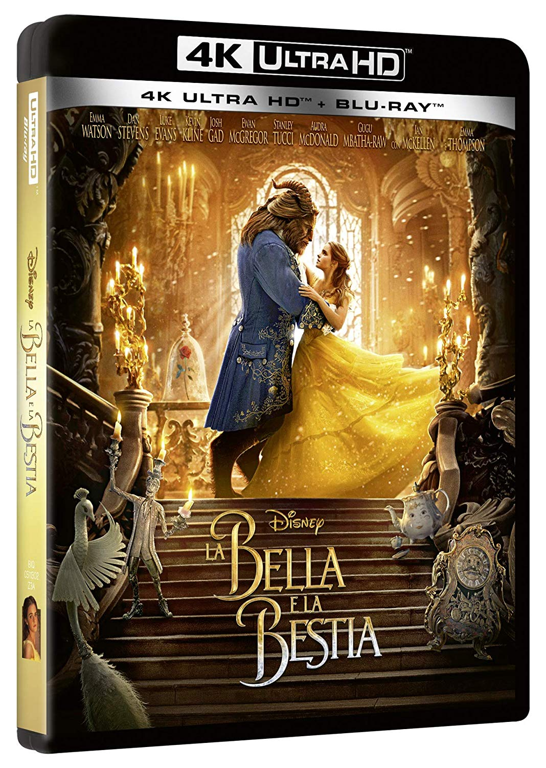 COF.LA BELLA E LA BESTIA - LIVE ACTION (BLU-RAY 4K ULTRA HD+BLU-