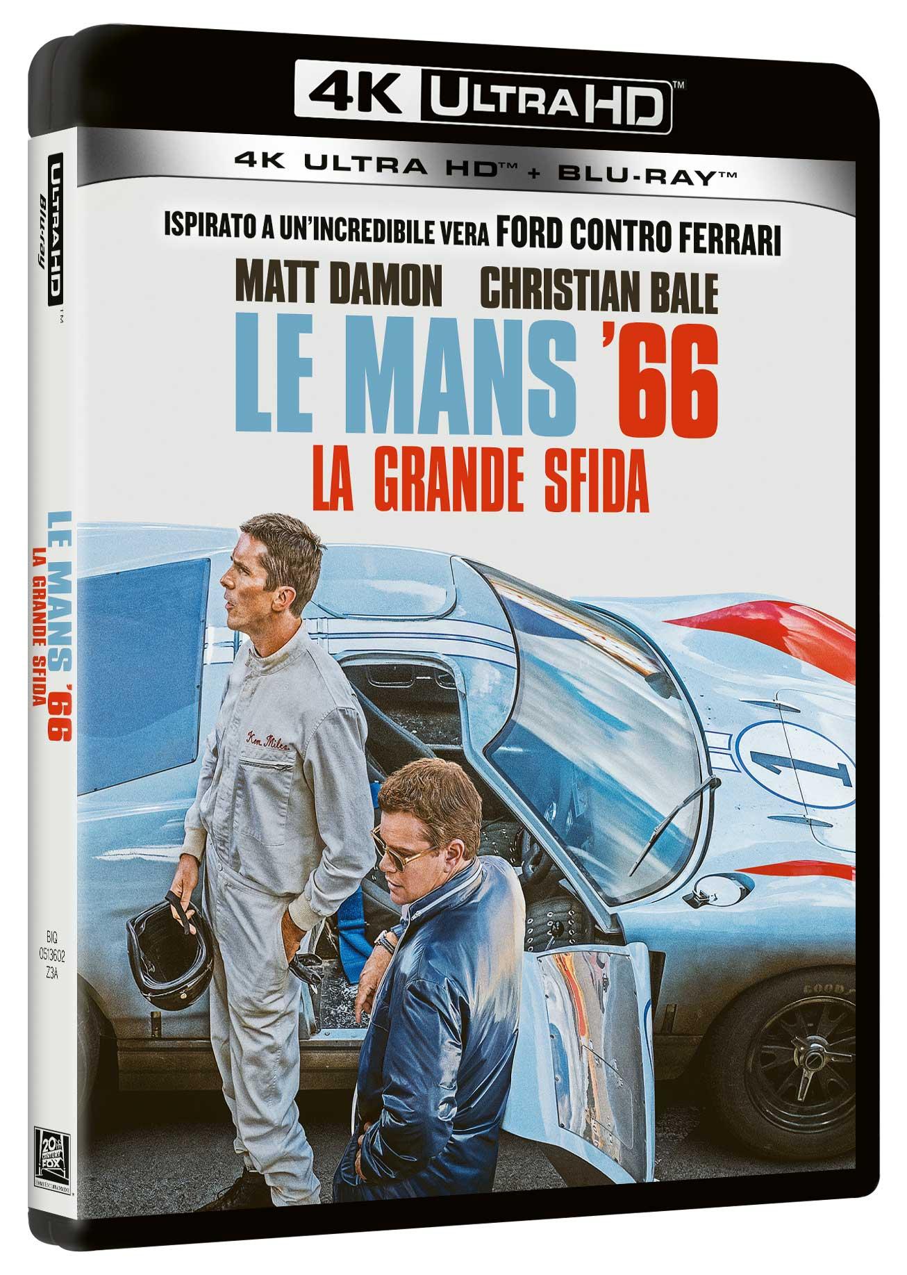 LE MANS 66 - LA GRANDE SFIDA (BLU-RAY 4K ULTRA HD+BLU-RAY)