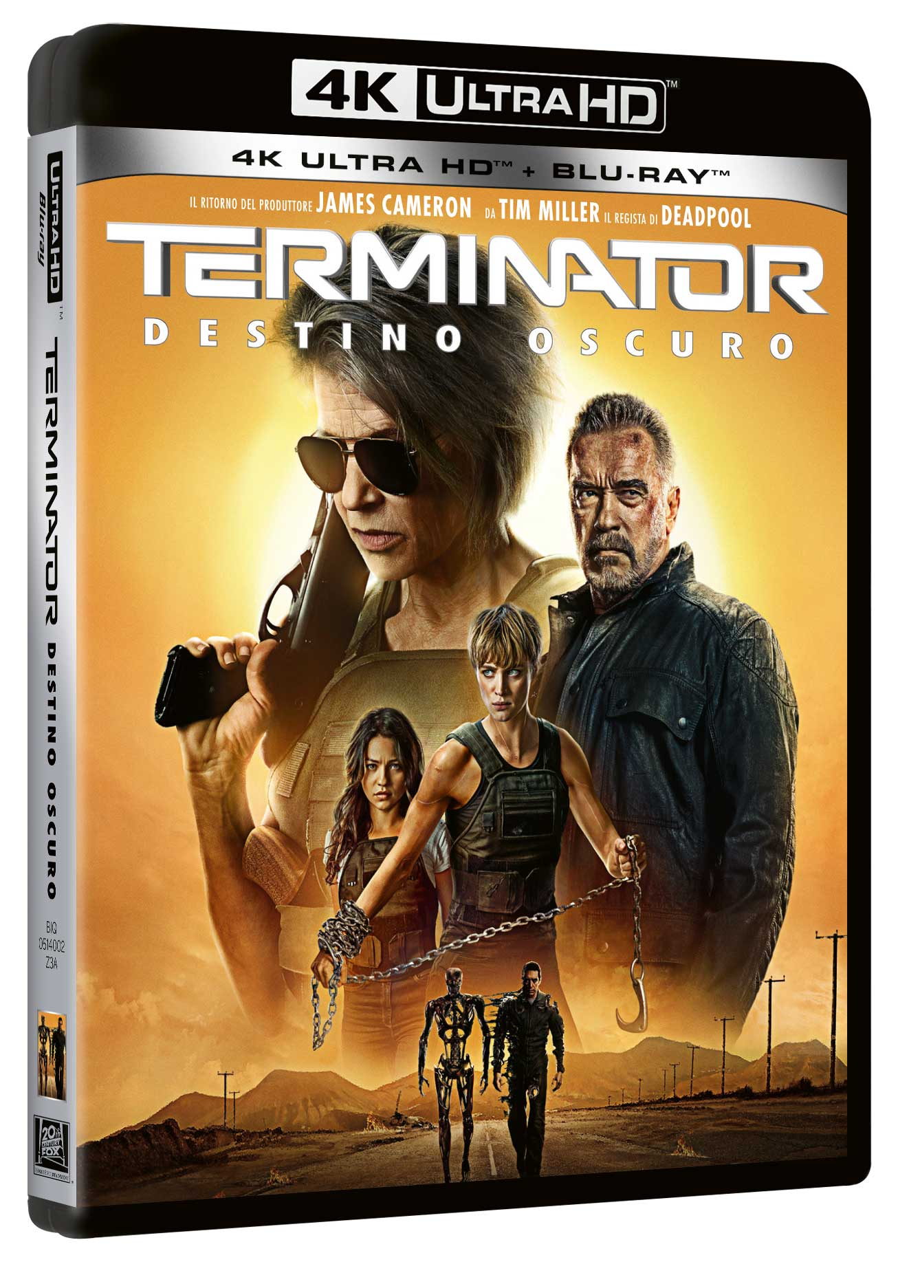 TERMINATOR - DESTINO OSCURO (BLU-RAY 4K ULTRA HD+BLU-RAY)