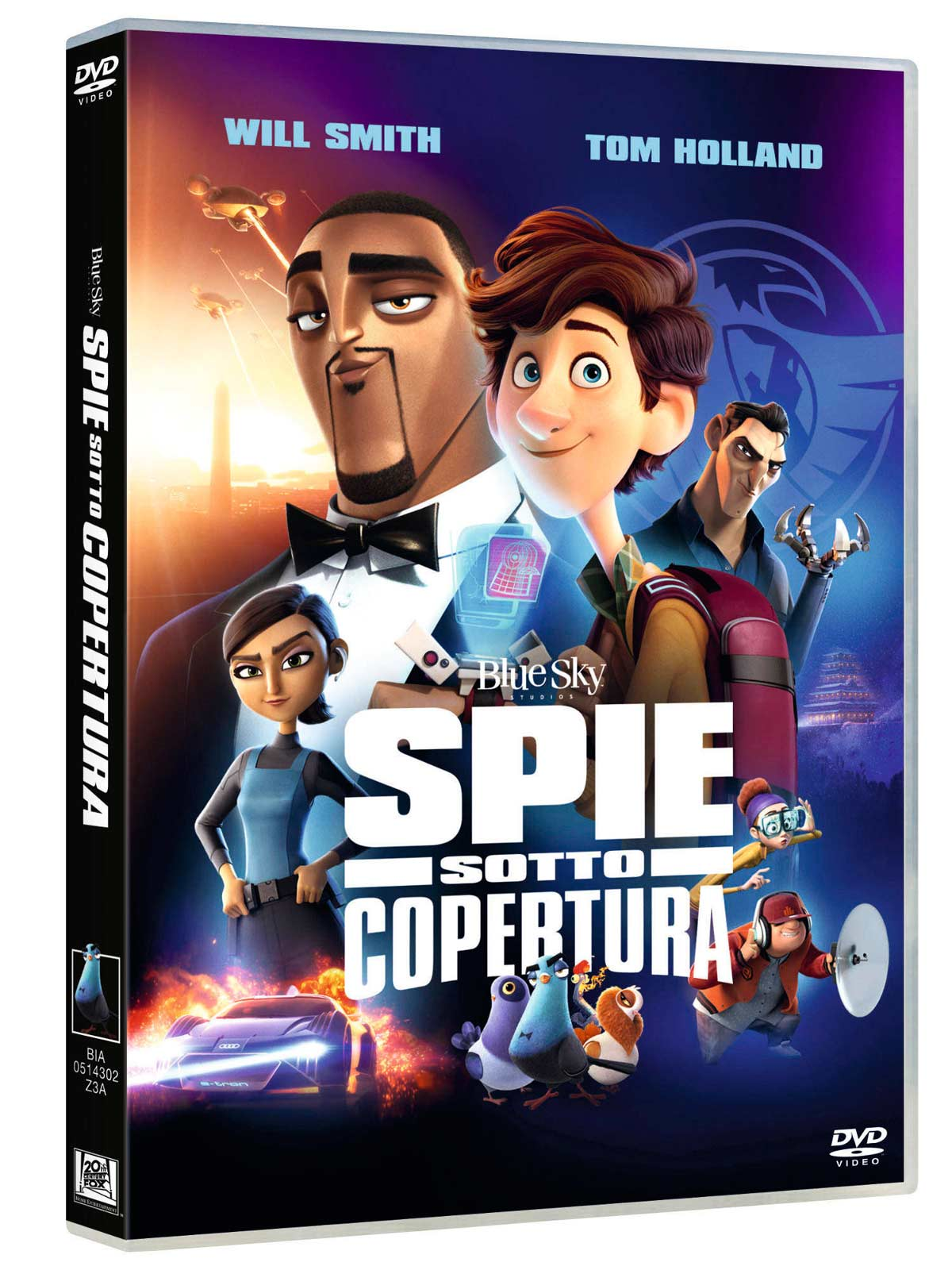 SPIE SOTTO COPERTURA (DVD)