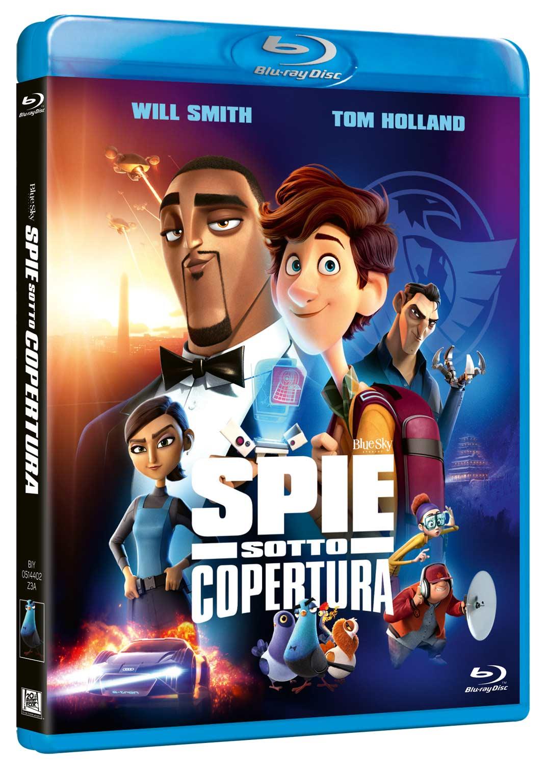 SPIE SOTTO COPERTURA - BLU RAY (DVD)