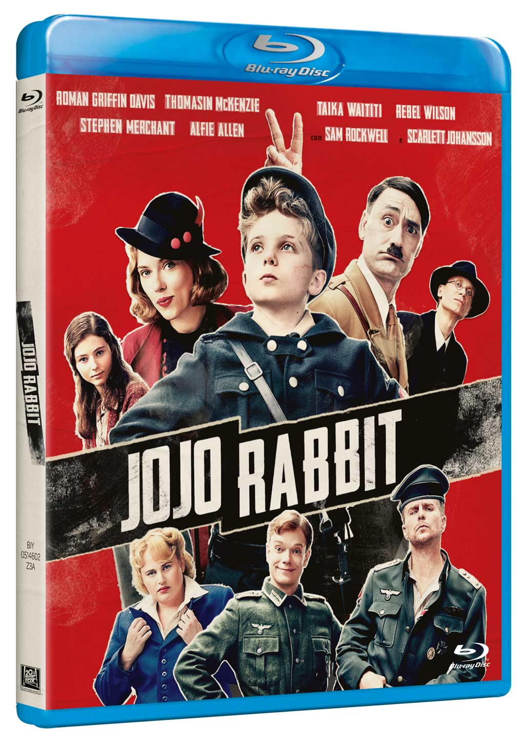 JOJO RABBIT - BLU RAY