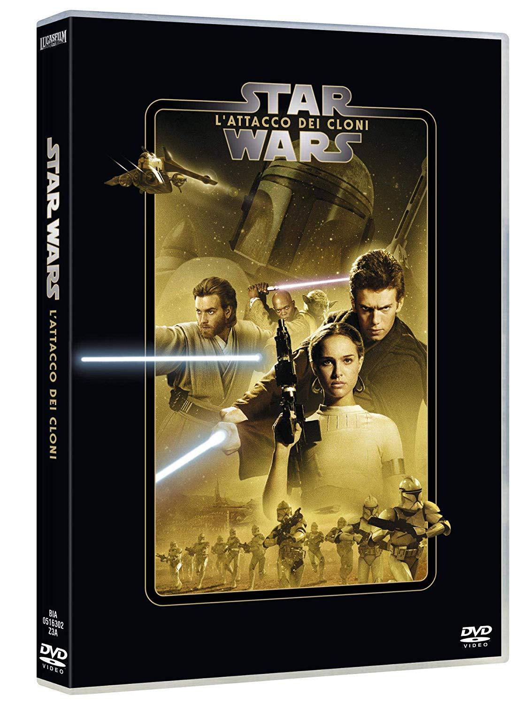 STAR WARS - EPISODIO II - L'ATTACCO DEI CLONI (DVD)