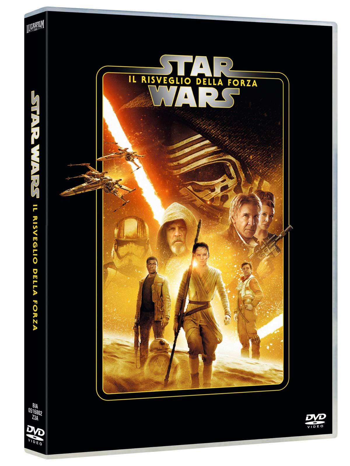 STAR WARS - EPISODIO VII - IL RISVEGLIO DELLA FORZA (DVD)
