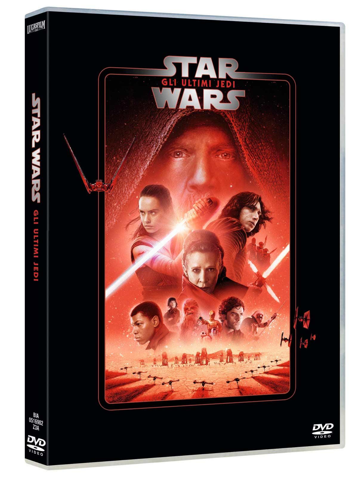 STAR WARS - EPISODIO VIII - GLI ULTIMI JEDI (DVD)