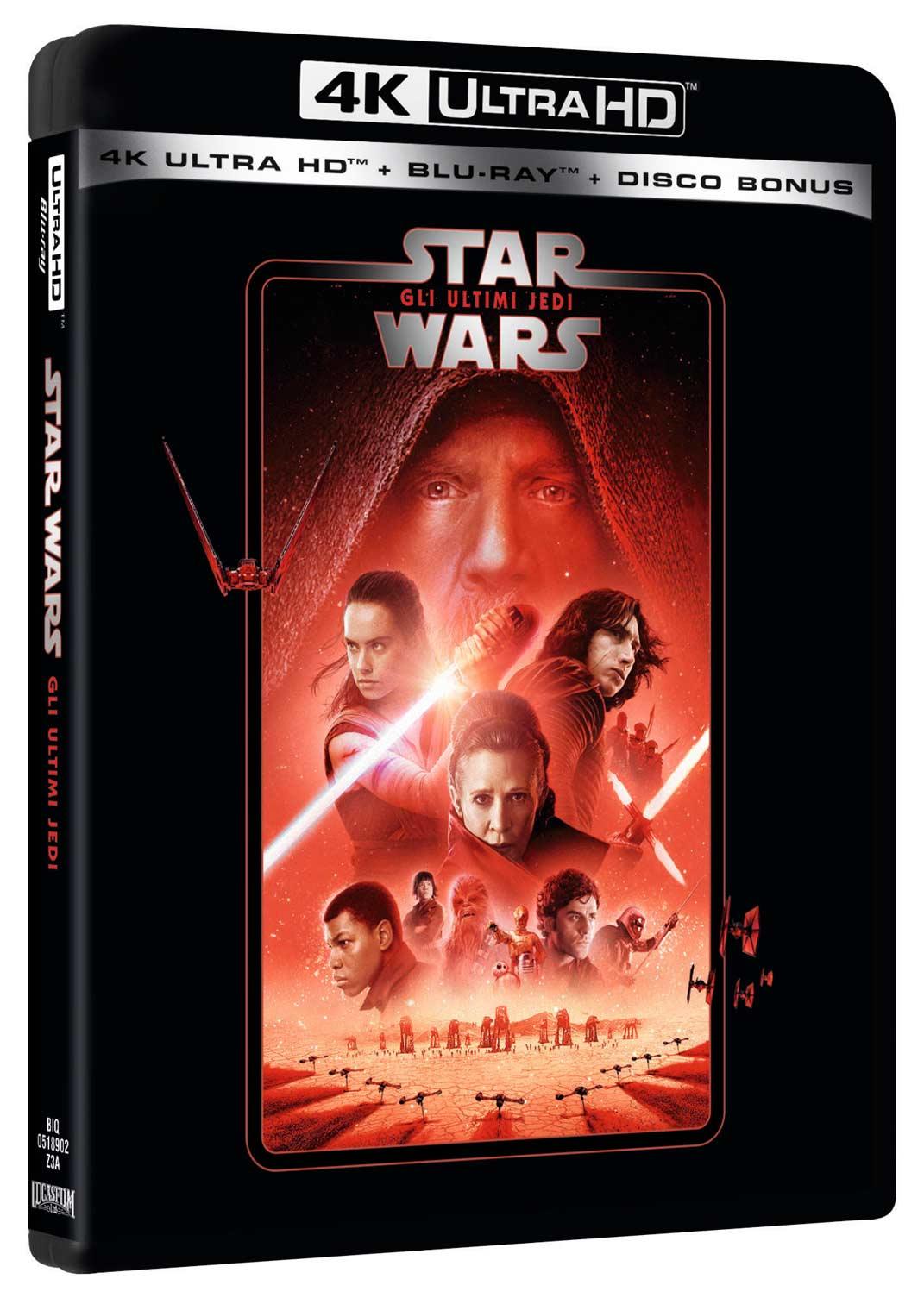 STAR WARS - EPISODIO VIII - GLI ULTIMI JEDI (BLU-RAY 4K ULTRA HD