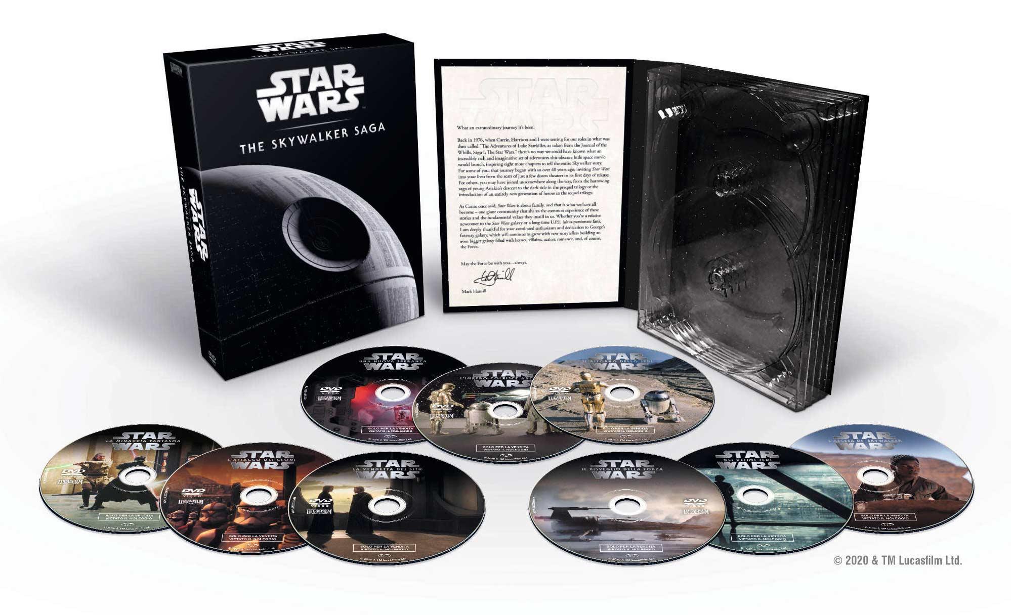 COF.STAR WARS - MOVIE COLLECTION I-IX (LTD) (9 DVD) (DVD)