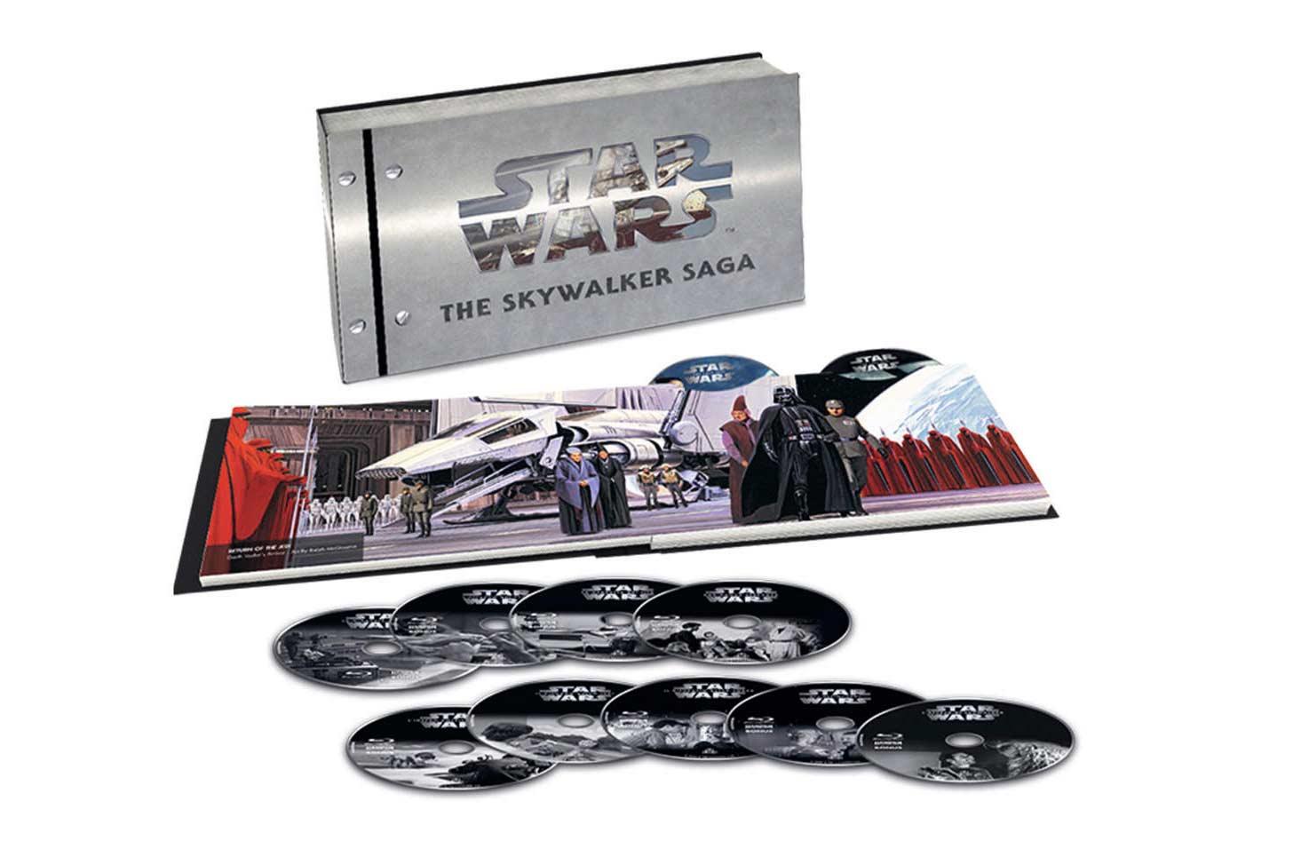 COF.STAR WARS - MOVIE COLLECTION I-IX (LTD) (9 BLU-RAY 4K ULTRA