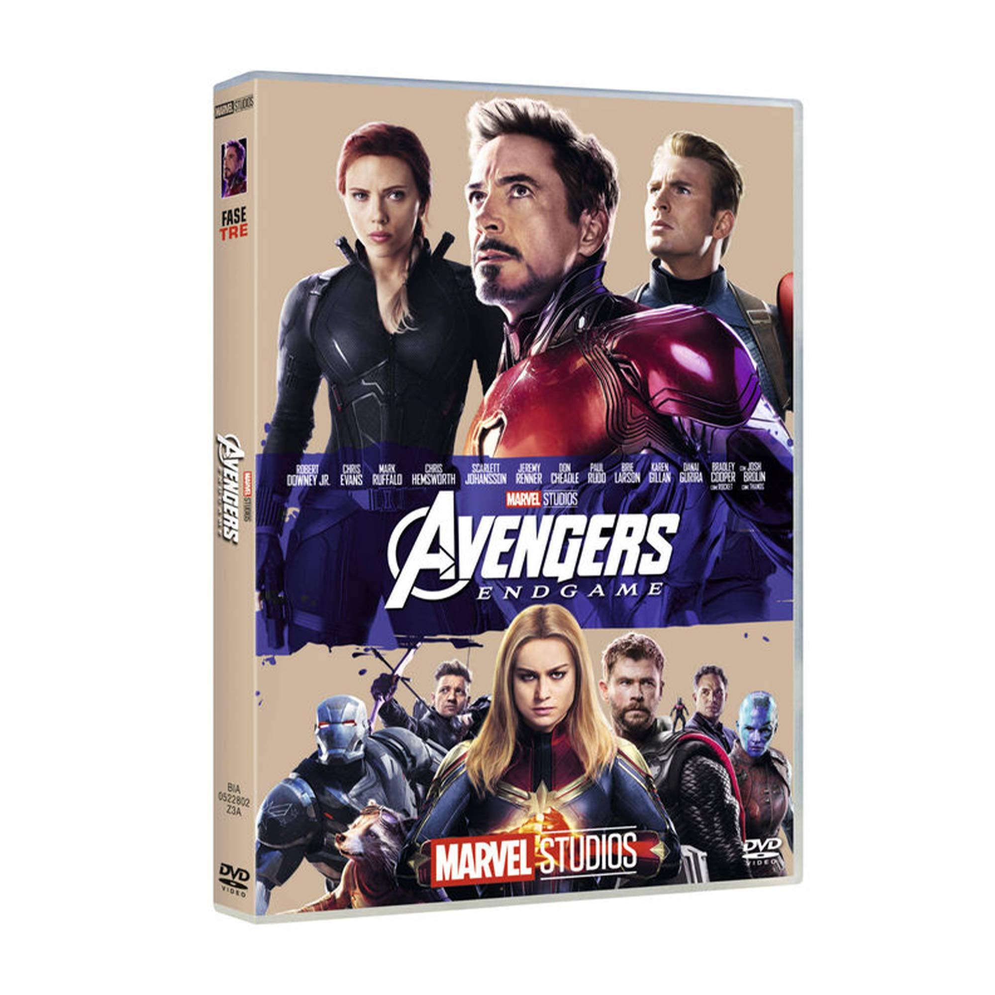 AVENGERS - ENDGAME (10 ANNIVERSARIO) (DVD)