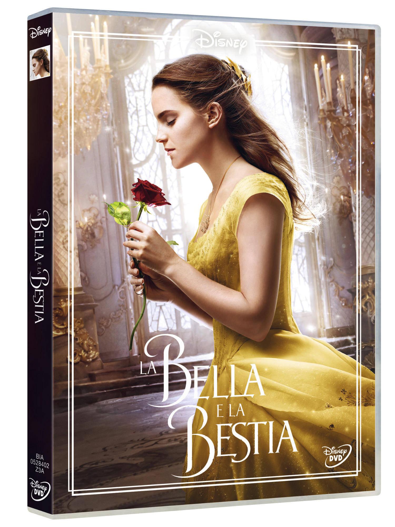 LA BELLA E LA BESTIA (LIVE ACTION) (DVD)