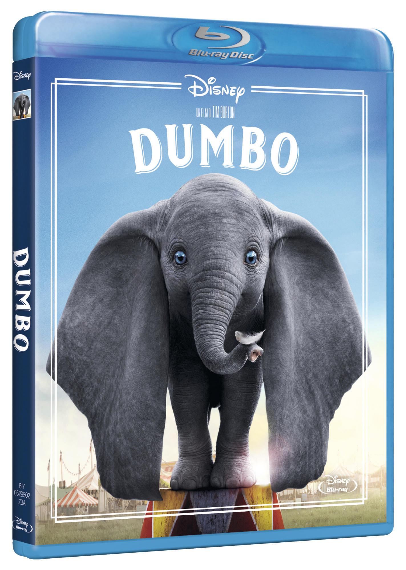 DUMBO (LIVE ACTION) - BLU RAY