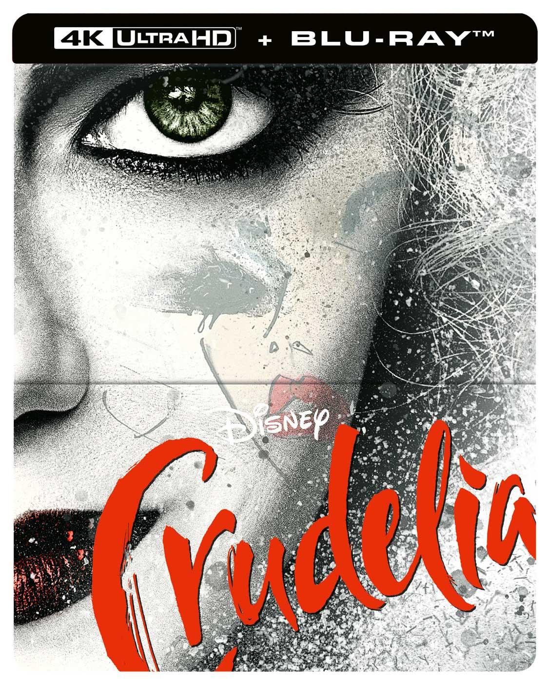 CRUDELIA (4K ULTRA HD + BLU-RAY 2D) STEELBOOK