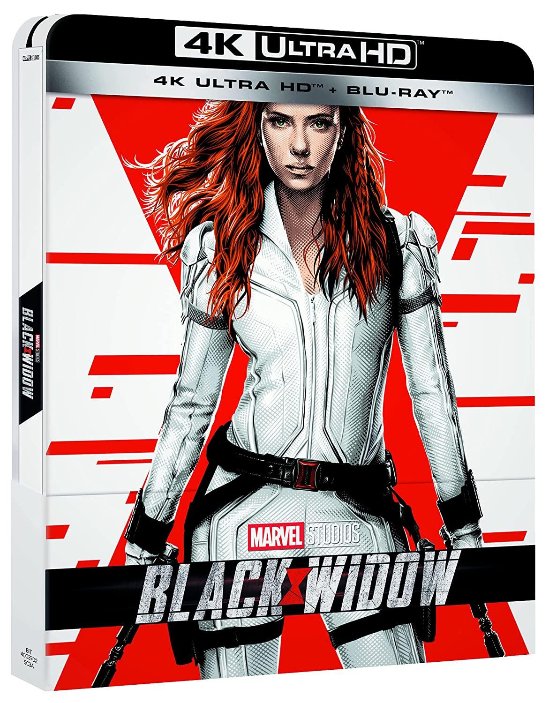 BLACK WIDOW (STEELBOOK) (BLU-RAY 4K ULTRA HD+BLU-RAY)