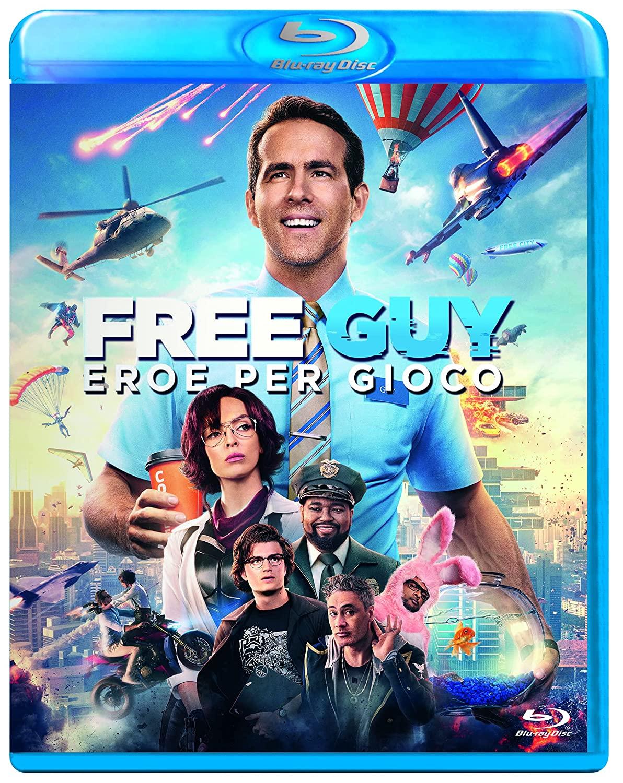 FREE GUY - EROE PER GIOCO - BLU RAY