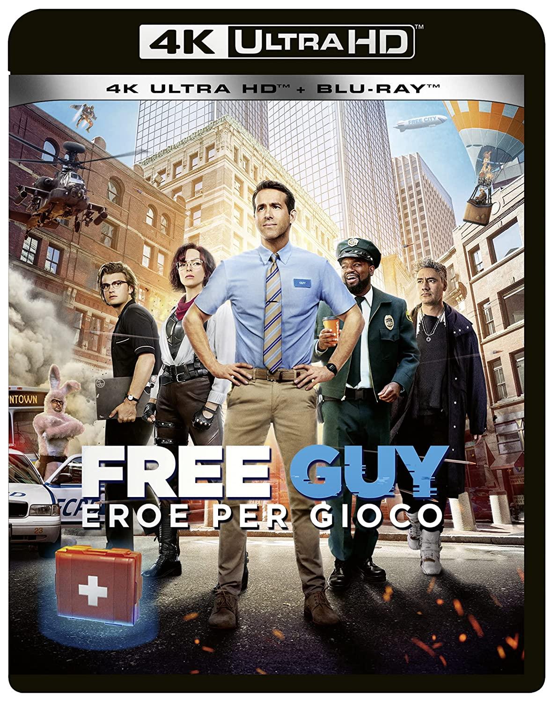 FREE GUY - EROE PER GIOCO (4K ULTRA HD + BLU-RAY 2D