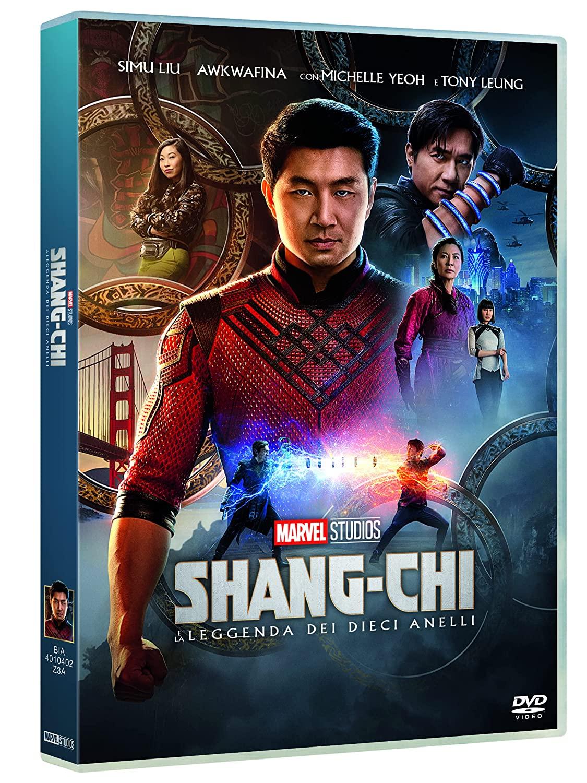 SHANG-CHI E LA LEGGENDA DEI DIECI ANELLI (DVD)